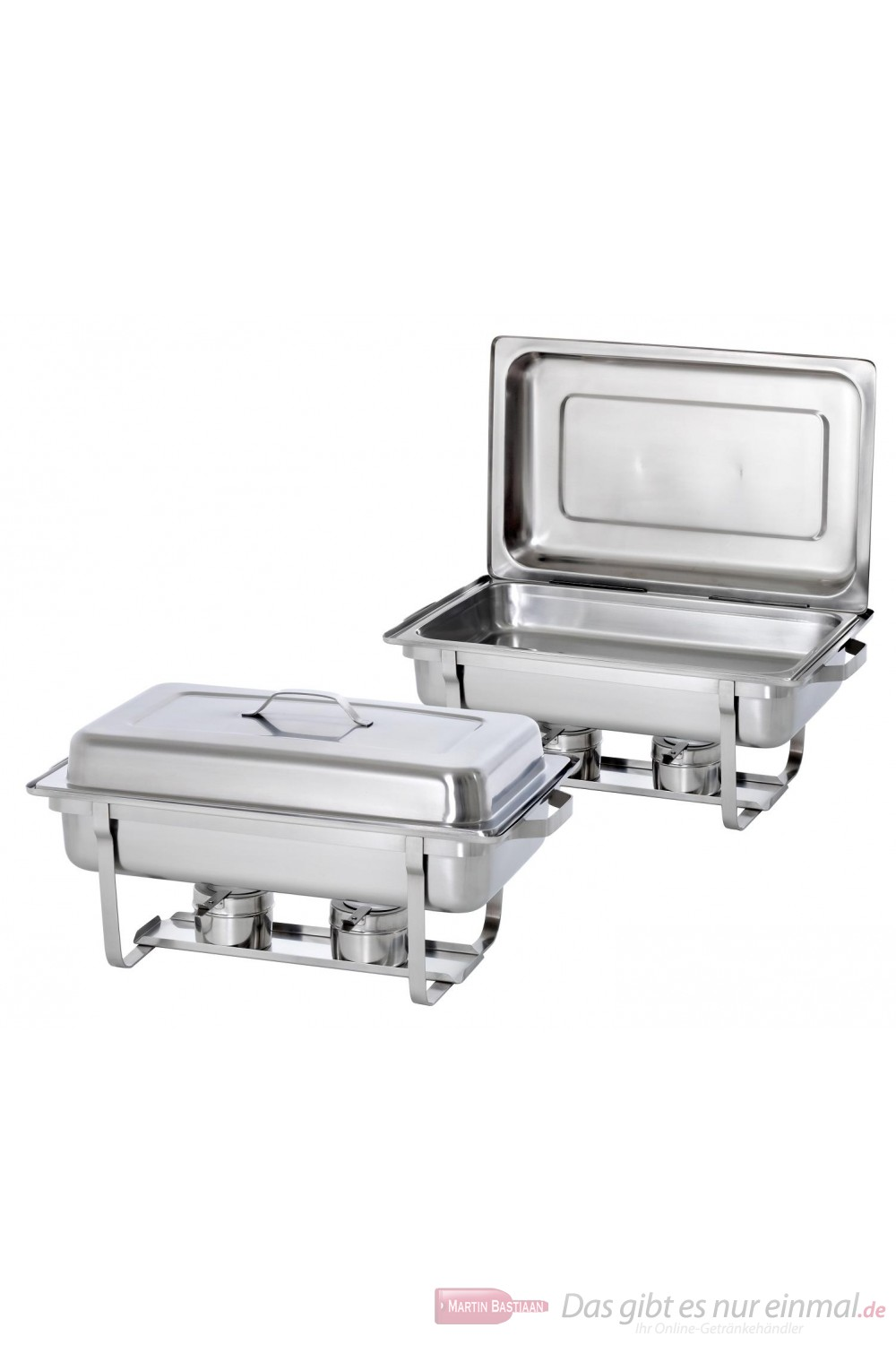 Bartscher Twin Pack 2 Chafing Dishes 1/1 GN