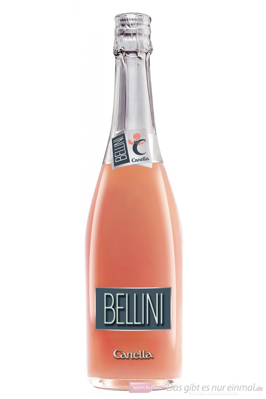 Bellini di Canella italienischer weinhaltiger Aperitif 5% 6-0,75l Flaschen