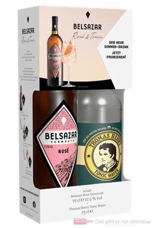 Belsazar Rosé + Tonic Vermouth 0,75l