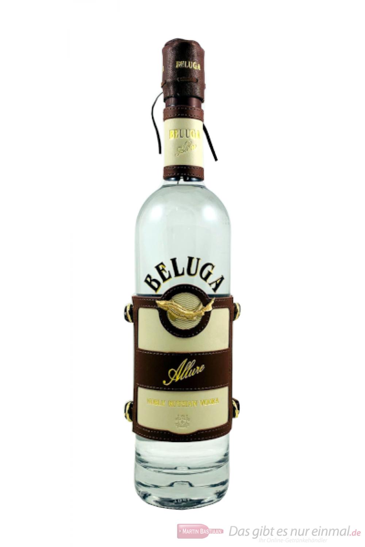 Beluga Allure Noble Russian Vodka in Ledermanschette 0,7l
