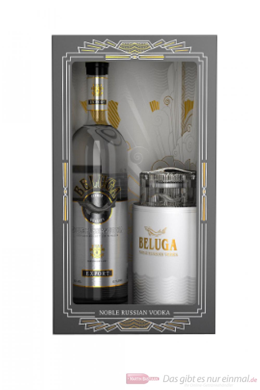 Beluga Export Noble in GP mit Kaviar Glas
