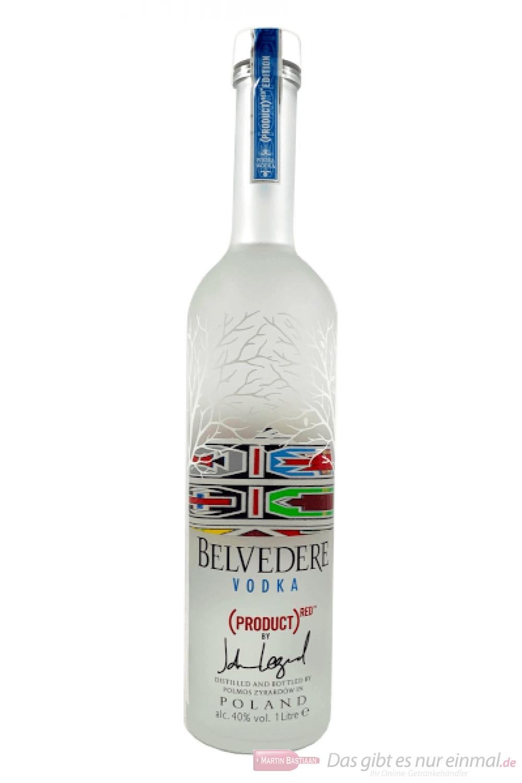 Belvedere Hero Red Vodka 1,0l