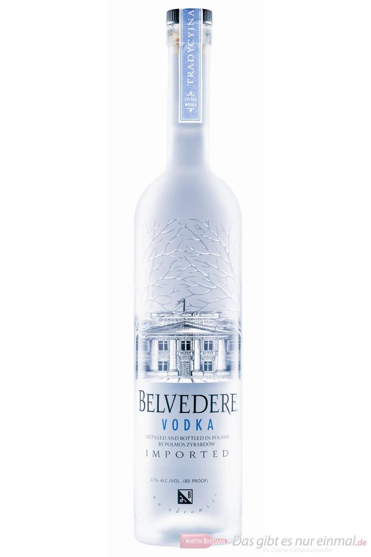 Belvedere Wodka 40% 3,0l Vodka Großflasche