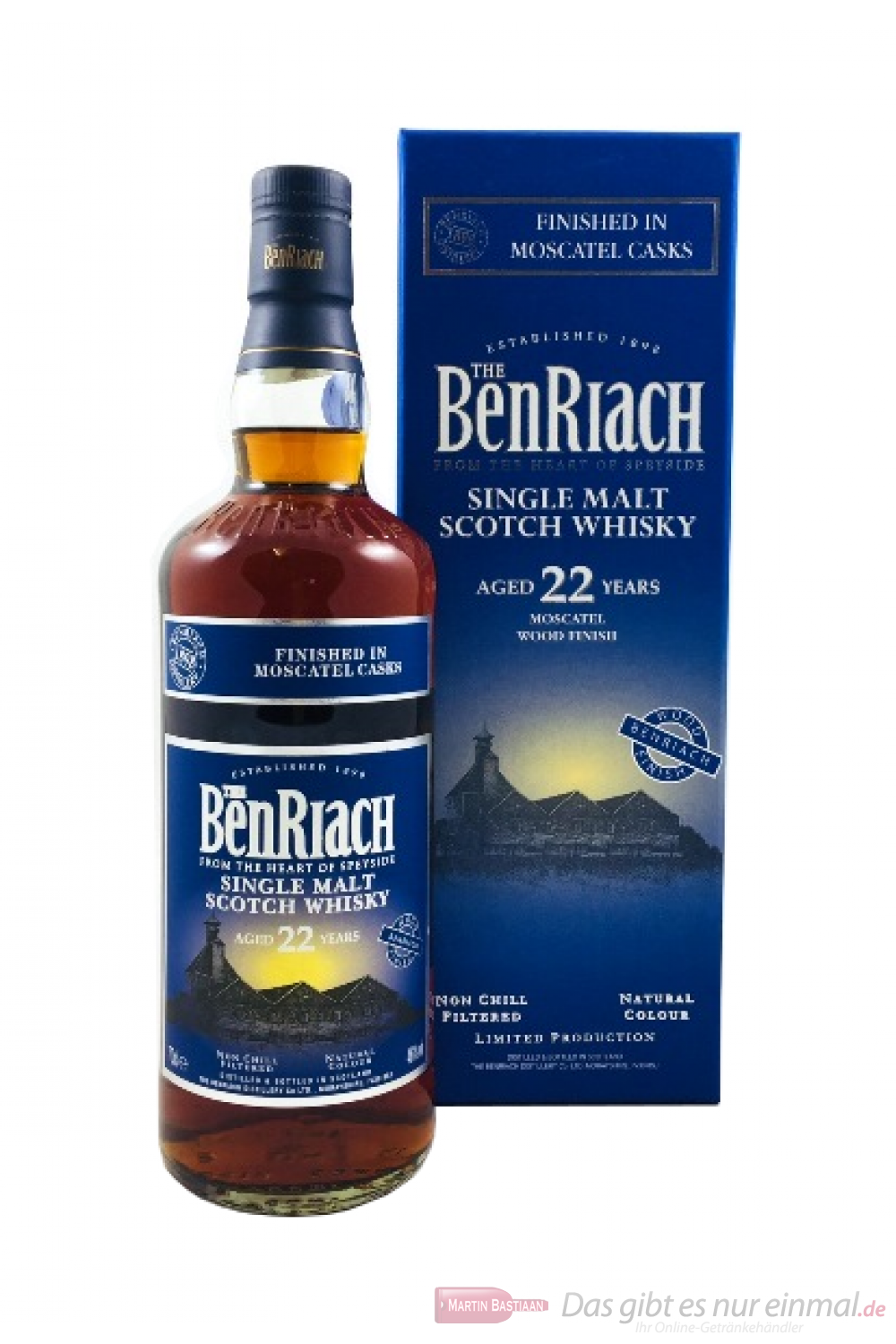 Benriach 22 Years Moscatel