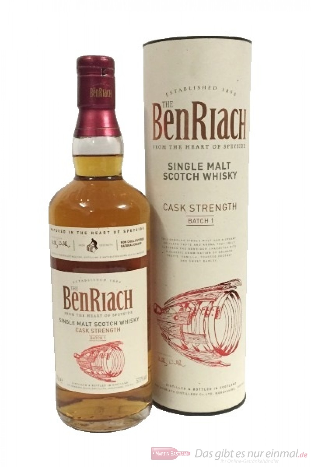 Benriach Cask Strength Batch Nr. 1