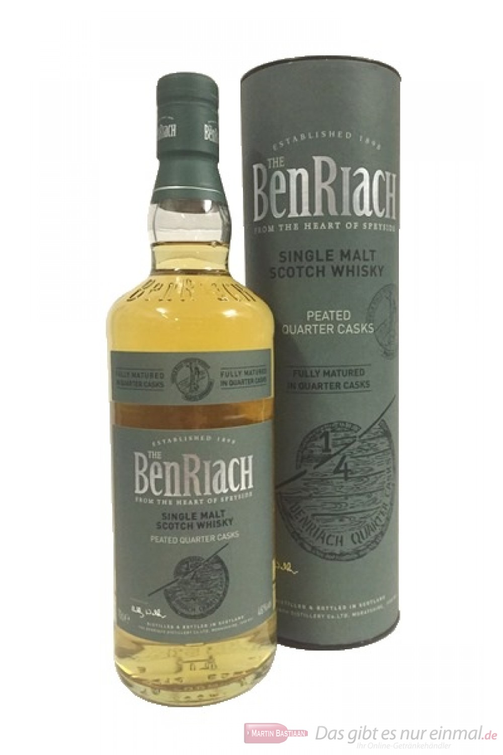 BenRiach Peated Cuarter Cask
