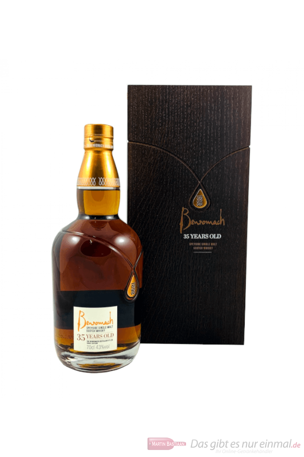 Benromach 35 Years Single Malt Scotch Whisky 0,7l