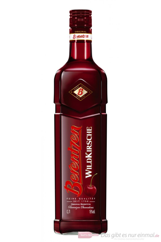 Berentzen Wildkirsche 16% 0,7l Flasche