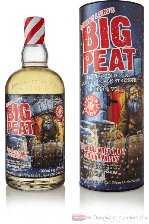 Big Peat Christmas Edition 2019 Blended Malt Scotch Whisky 0,7l