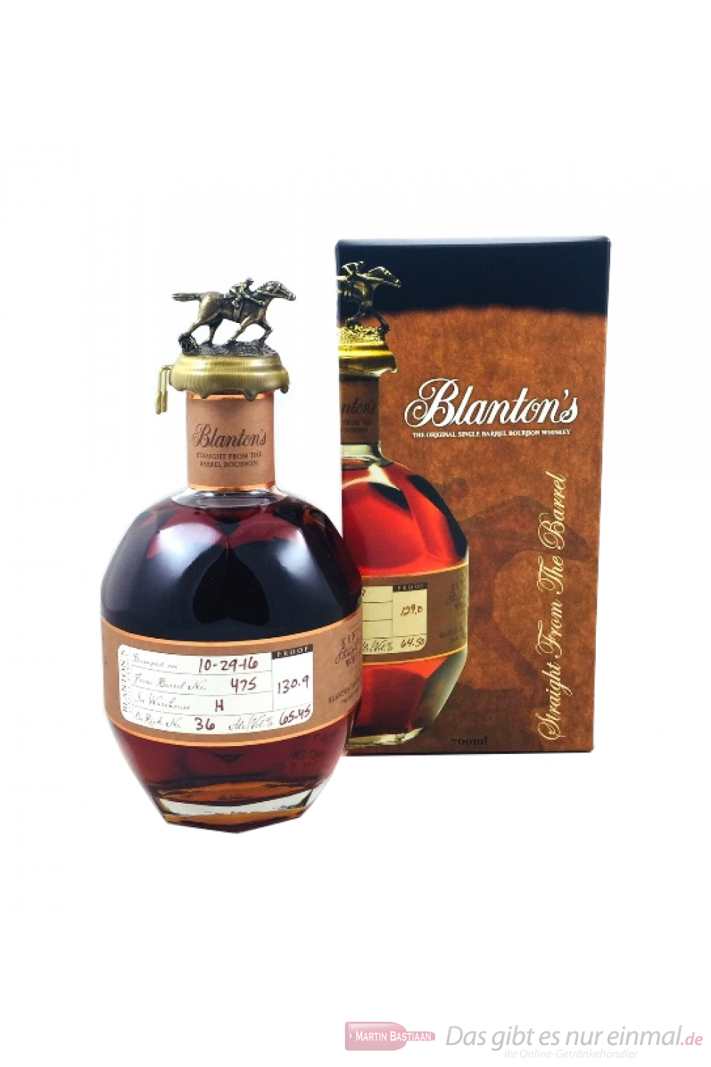 Blanton's Straight from the Barrel 65,45%