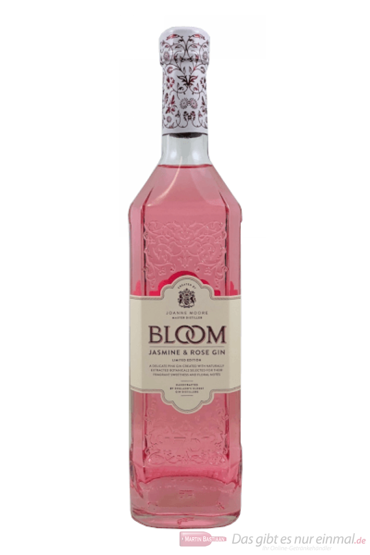 Bloom Jasmine & Rose Pink Gin 0,7l