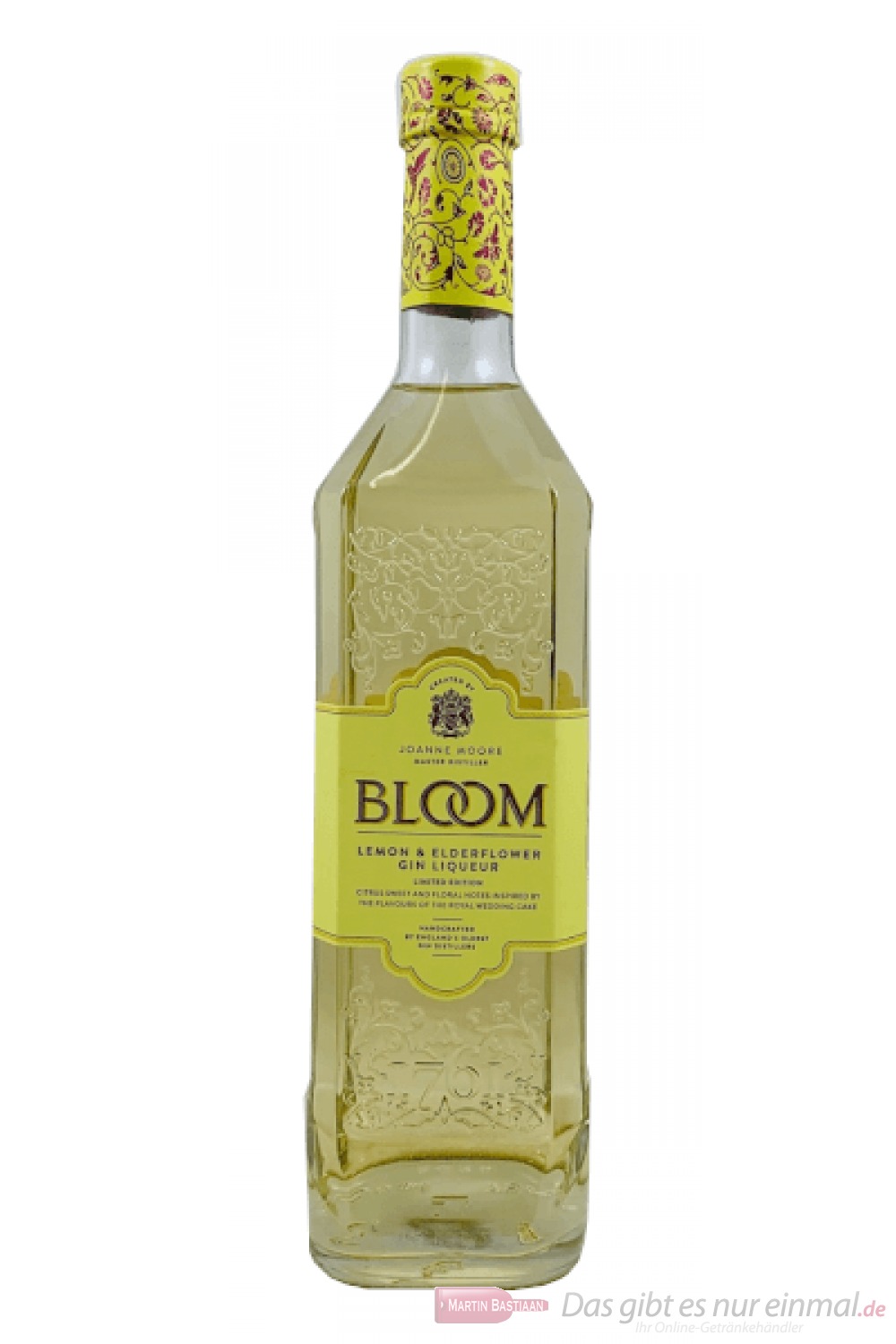 Bloom Lemon & Elderflower Ginlikör 0,7l