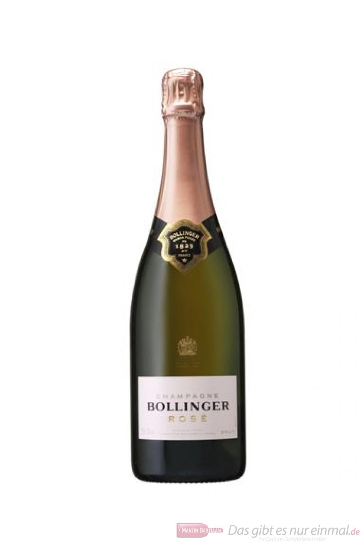 Bollinger Brut Rosé Champagner 12% 0,75l Flasche