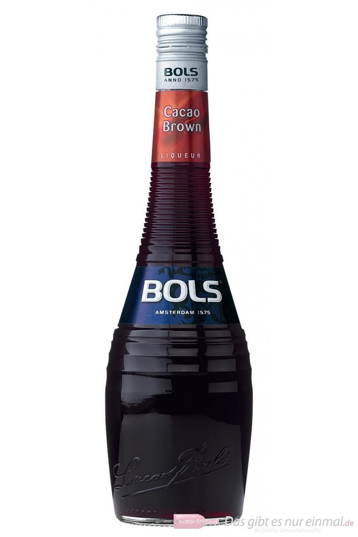 Bols Cacao Brown Likör 24% 0,7l Liqueur Flasche