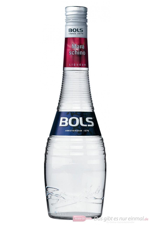 Bols Maraschino Likör 24 % 0,7 l Liqueur Flasche