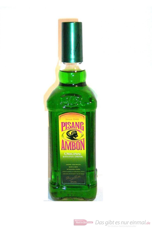 Bols Pisang Ambon Likör 20 % 1,0l Flasche