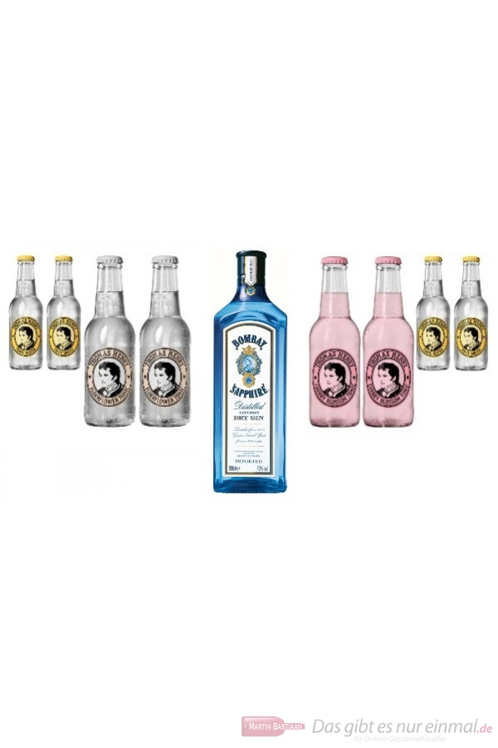 Bombay Tonic Water Mix Pack