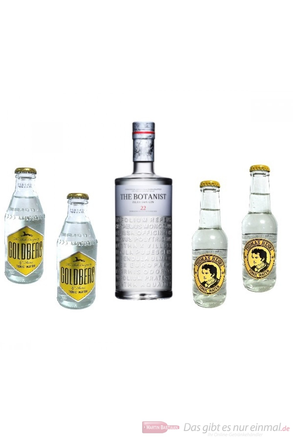 The Botanist Tonic Water Mini Pack