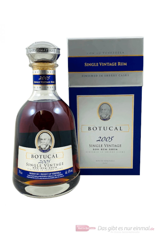 Ron Botucal Rum Single Vintage 2005 0,7l