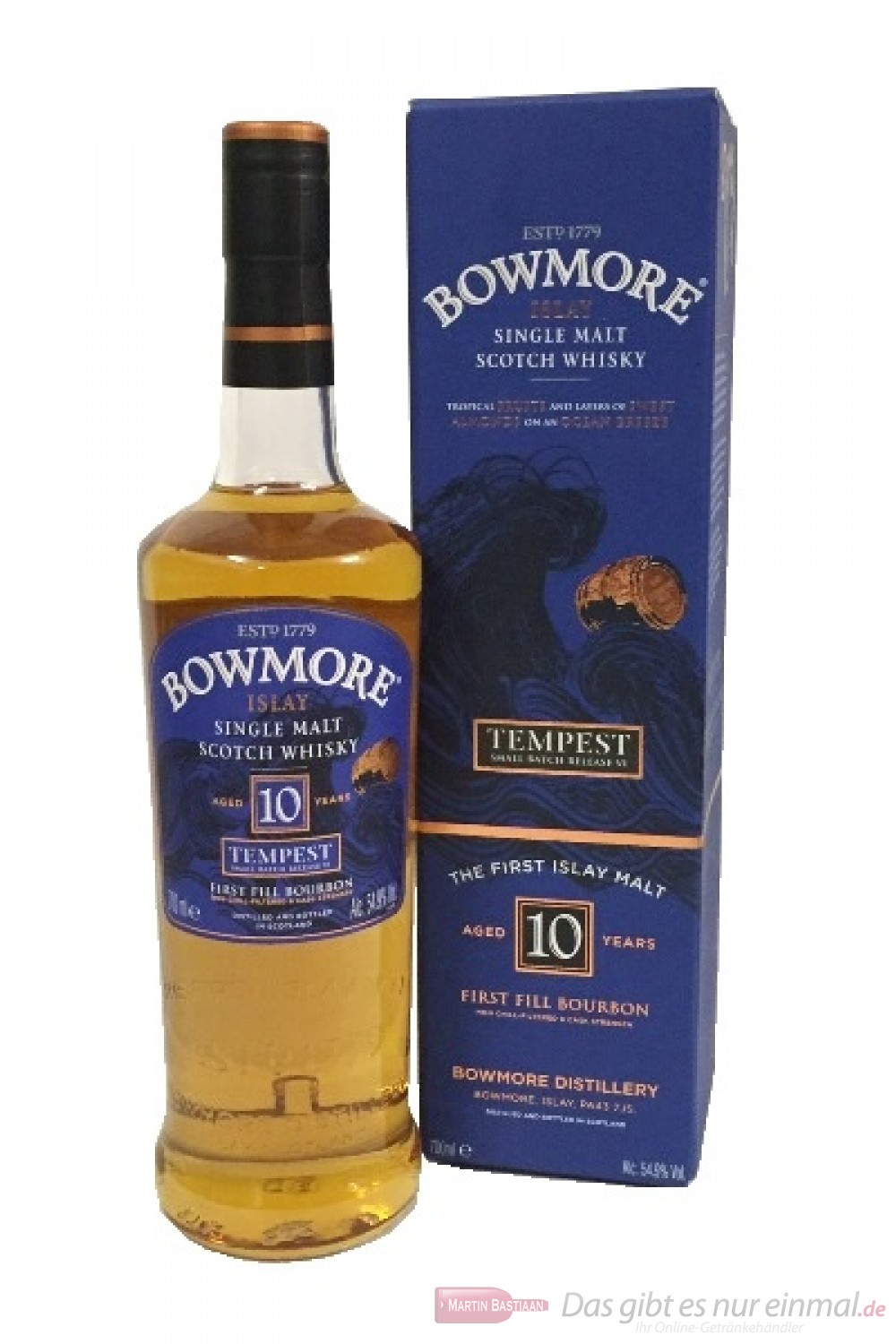 Bowmore Tempest Batch 6