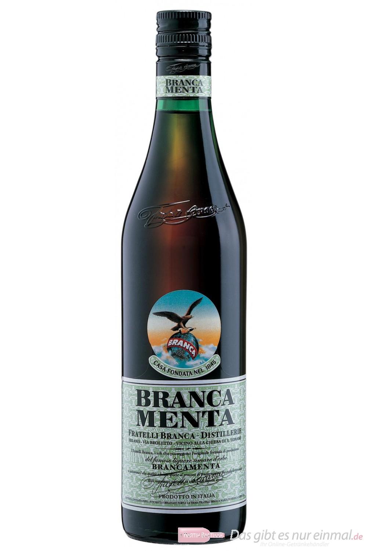 Branca Menta Bitter 28% 1,0l Flasche