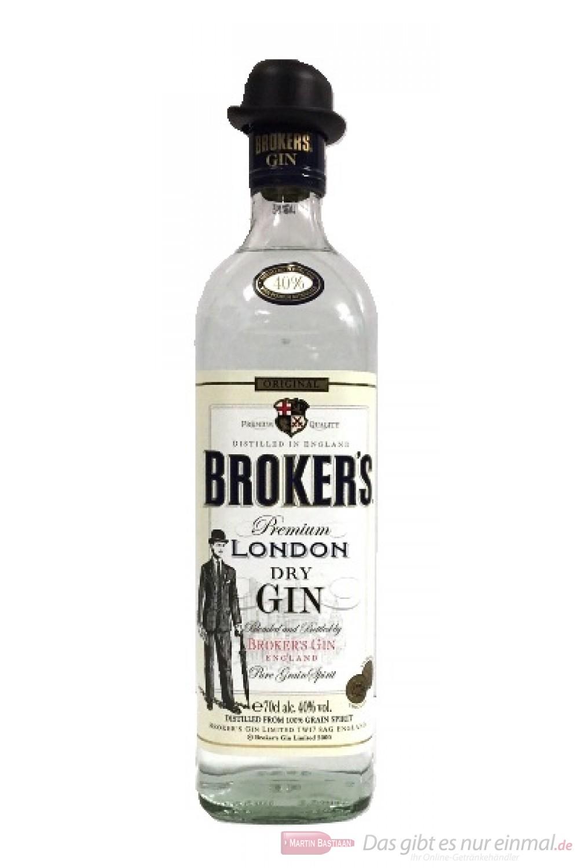 Broker's London Dry Gin 40%