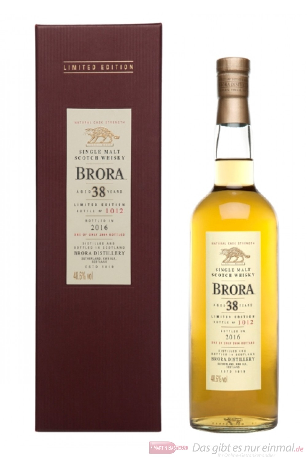 Brora 38 Years Limited Edition 2016
