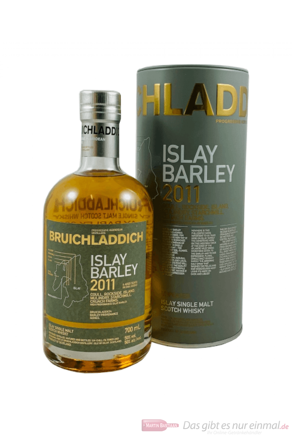 Bruichladdich Islay Barley 2011 Unpeated Single Malt Scotch Whisky 0,7l