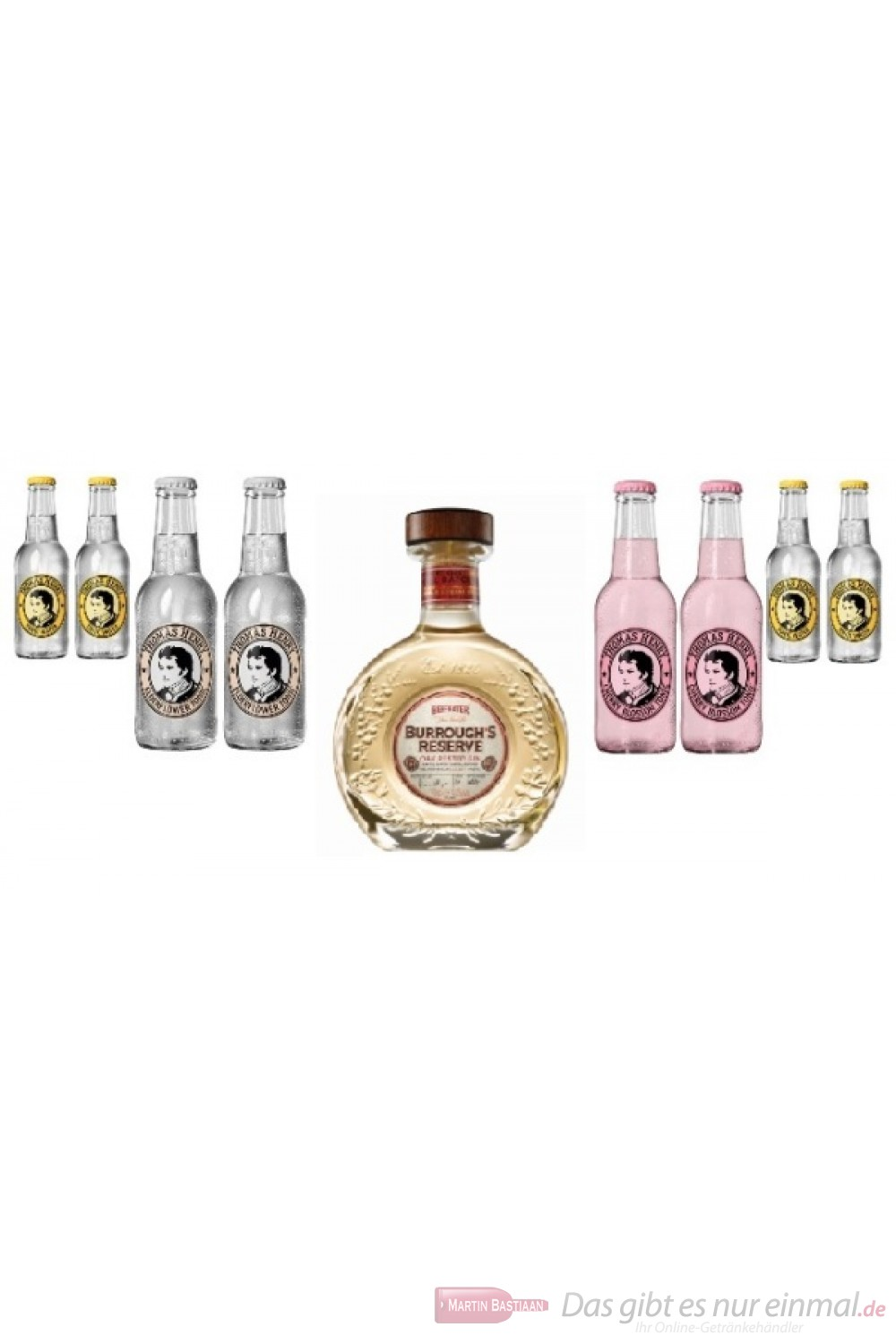 Beefeater Burrough´s Reserve Tonic Water Mix Pack