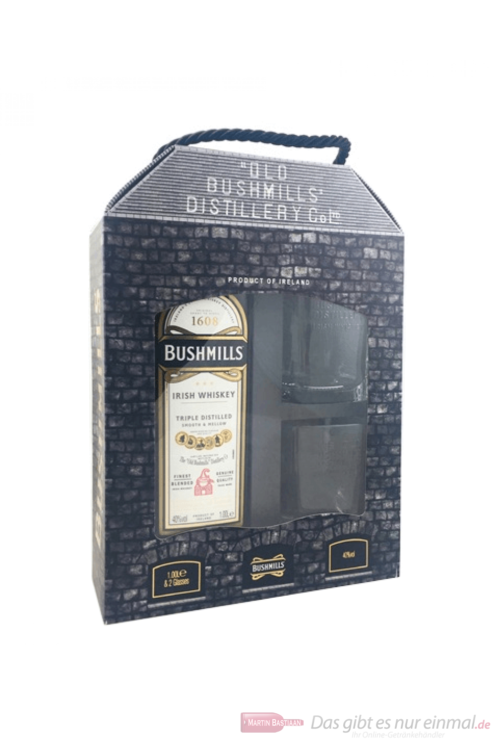 Bushmills the Original mit 2 Gläsern in GP