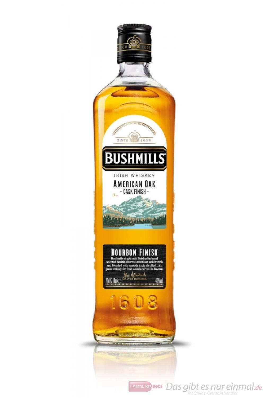 Bushmills American Oak Bourbon Cask Finish Irish Whisky 0,7l