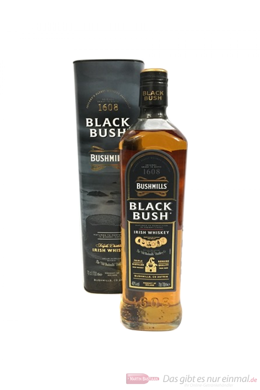 Bushmills Black Bush in Geschenkverpackung