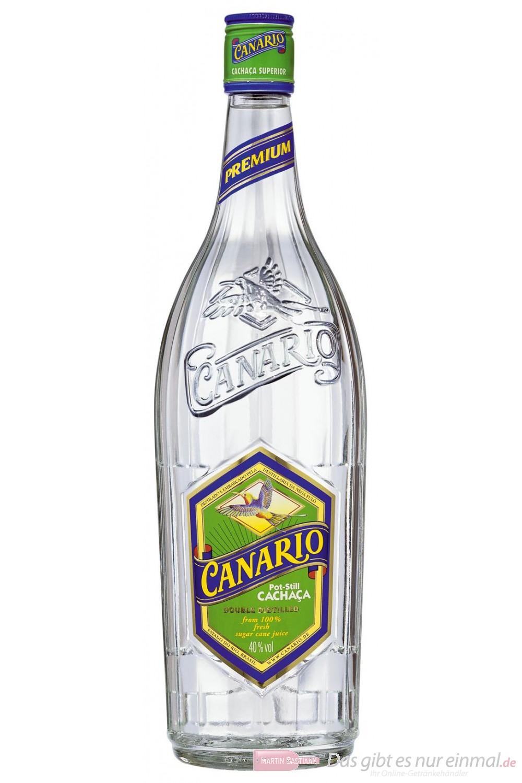 Canario Cachaca 40 % 0,7 l Flasche