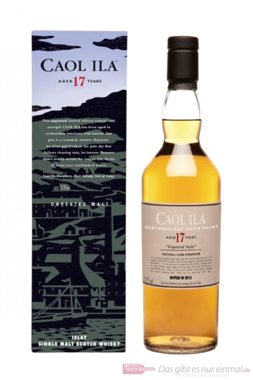 Caol Ila Unpeated 17 Jahre