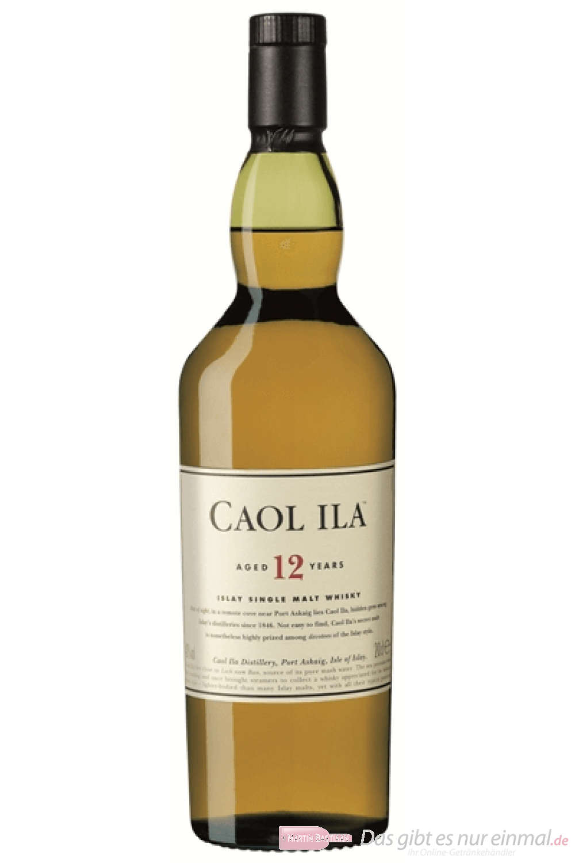 Caol Ila 12 years Islay Single Malt Whisky 0,2l