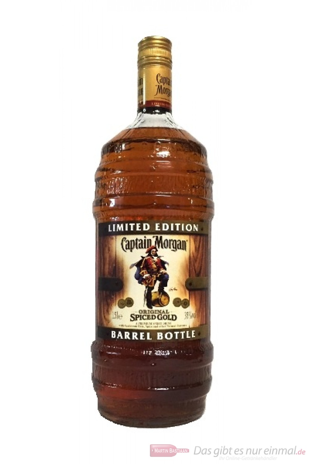 Captain Morgan Barrel Bottle