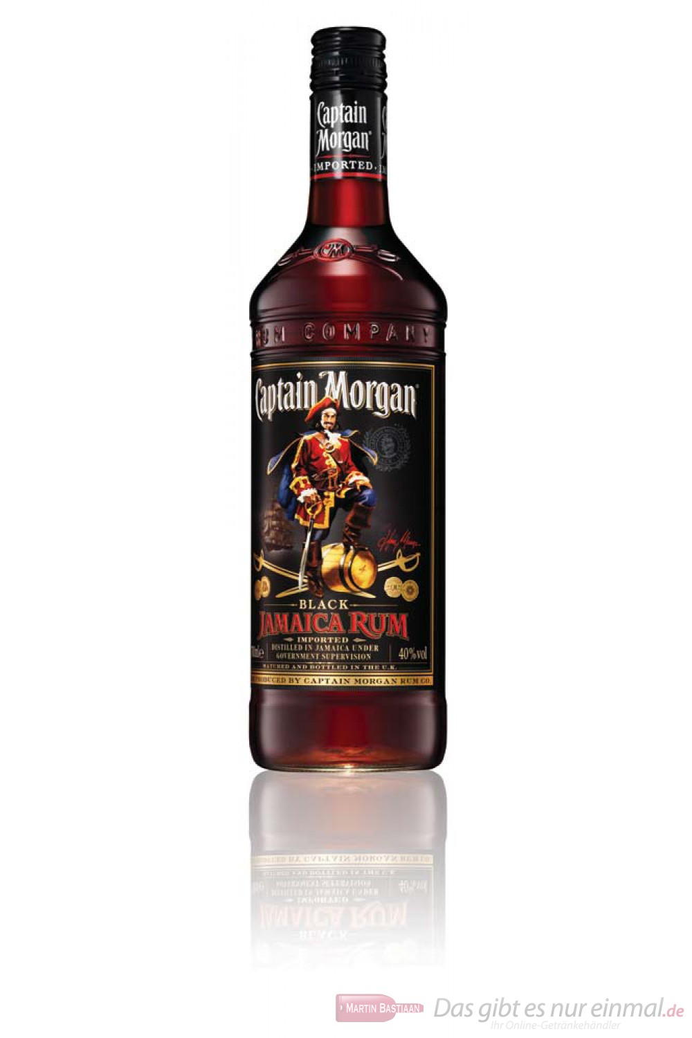 Captain Morgan Black Label Rum