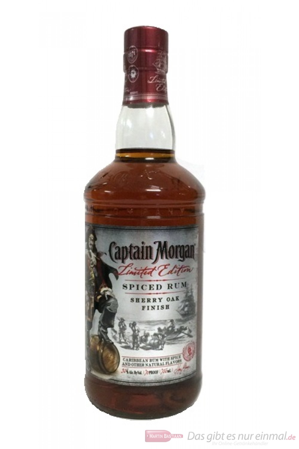 Captain Morgan Sherry Oak Finish