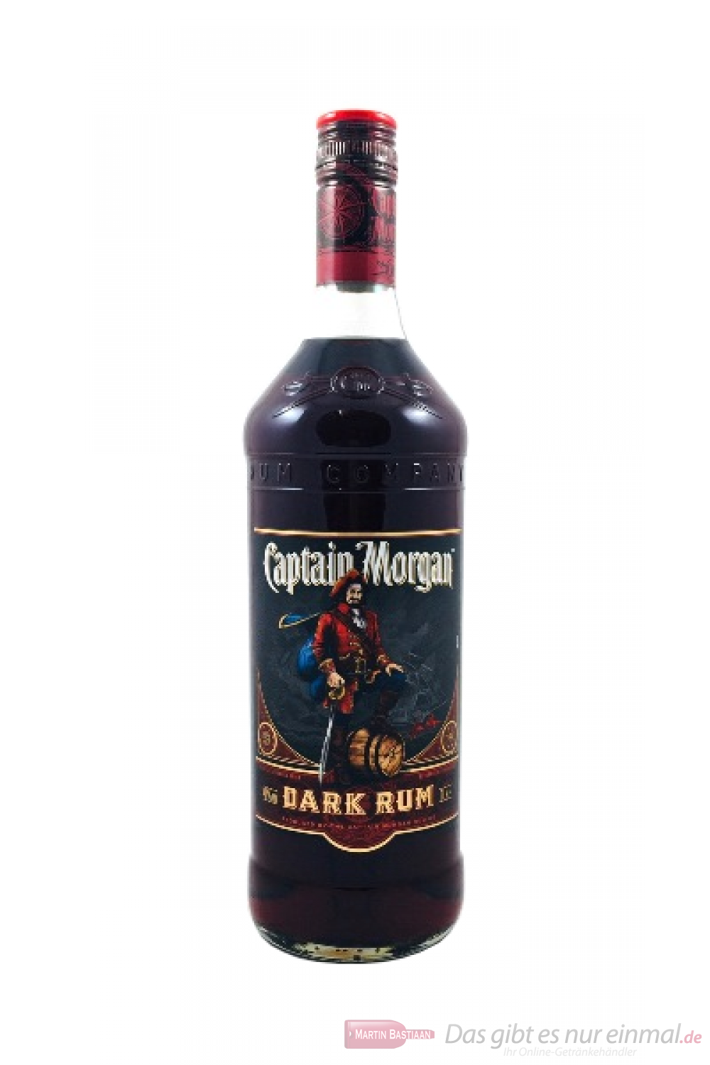 Captain Morgan Black Label Rum 1l