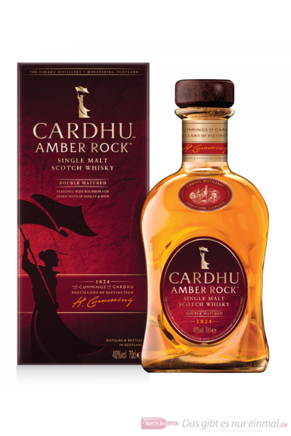Cardhu Amber Rock Single Malt Scotch Whisky 40% 0,7l Flasche