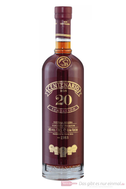Centenario 20 Fundación Rum 0,7l