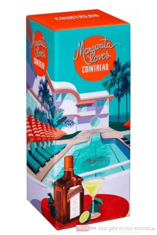 Cointreau Margarita Giftbox Likör 0,7l