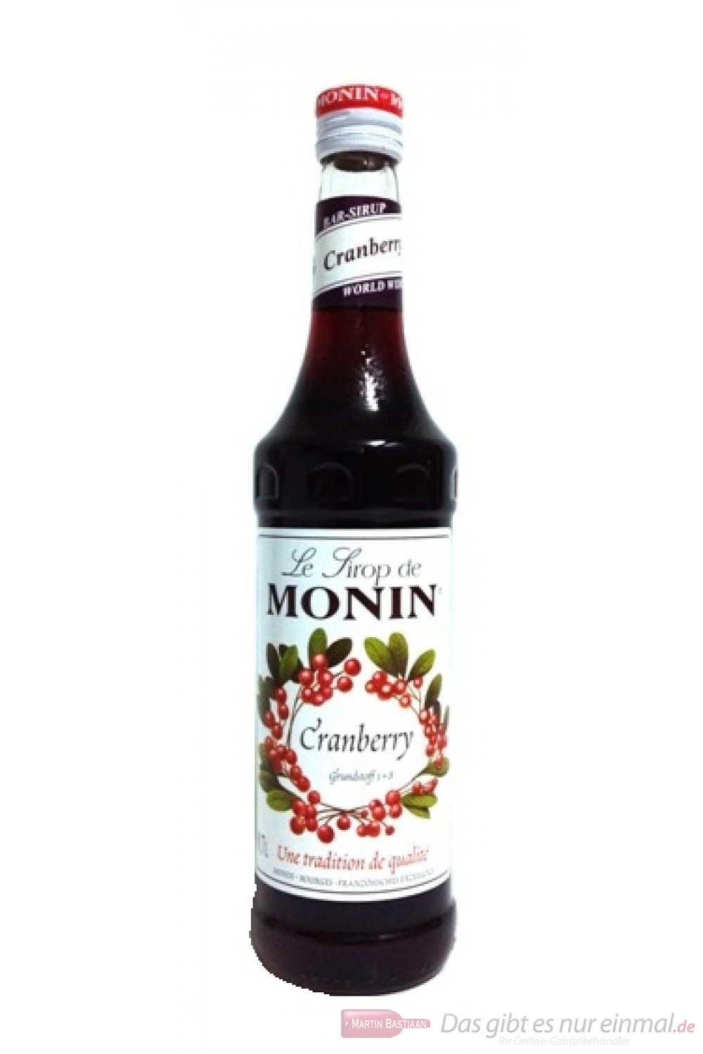 Monin Cranberry Sirup
