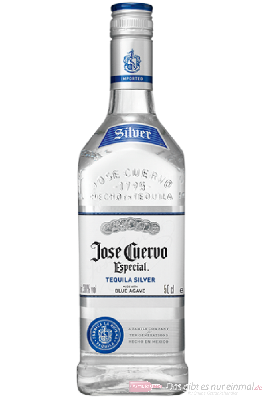 José Cuervo Silver 0,5l