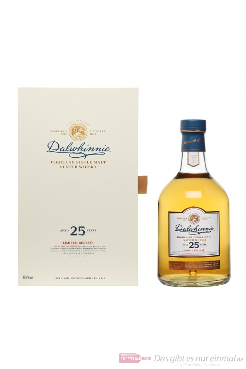 Dalwhinnie 25 Years 2015/1989