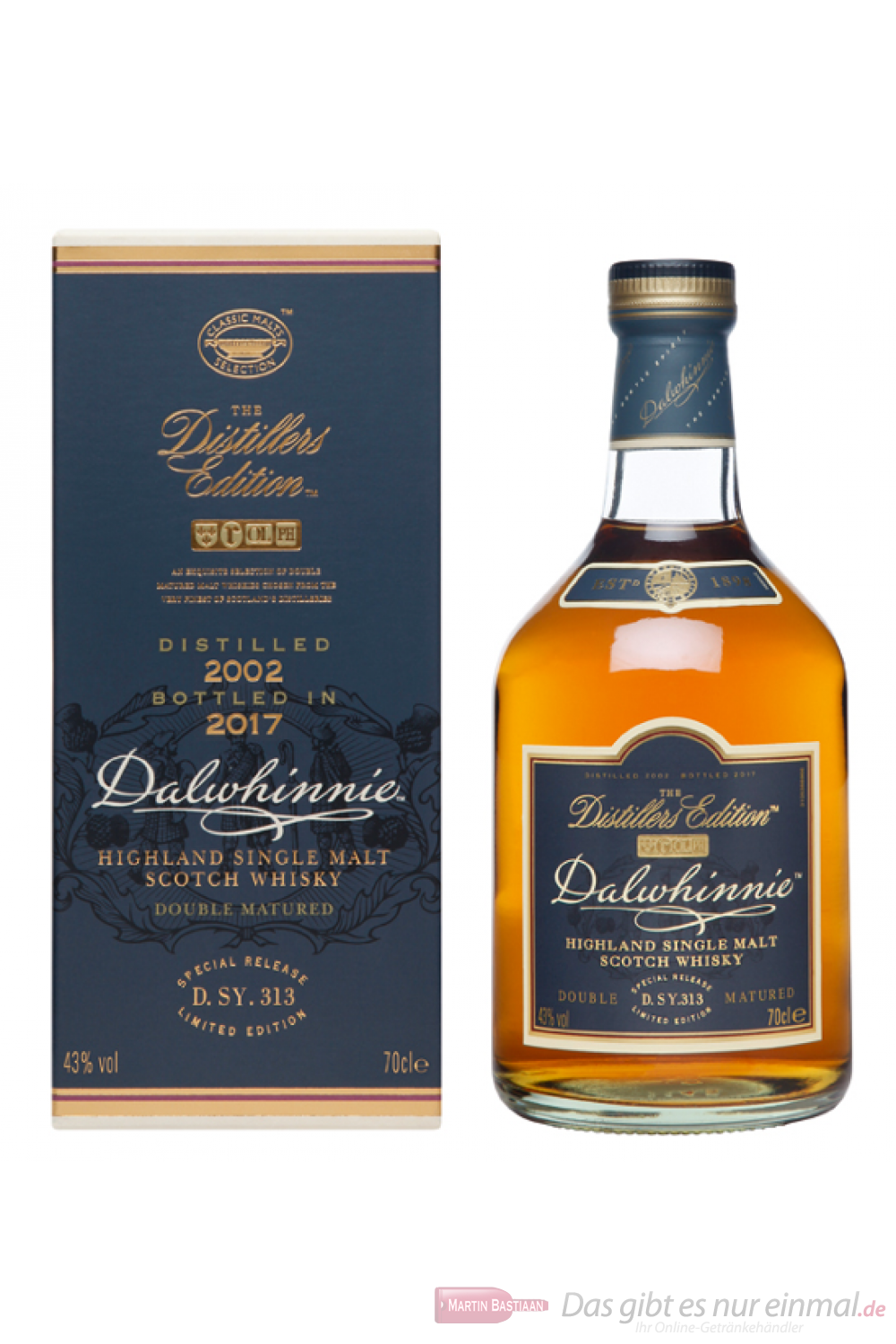 Dalwhinnie Distillers Edition 2001/2017