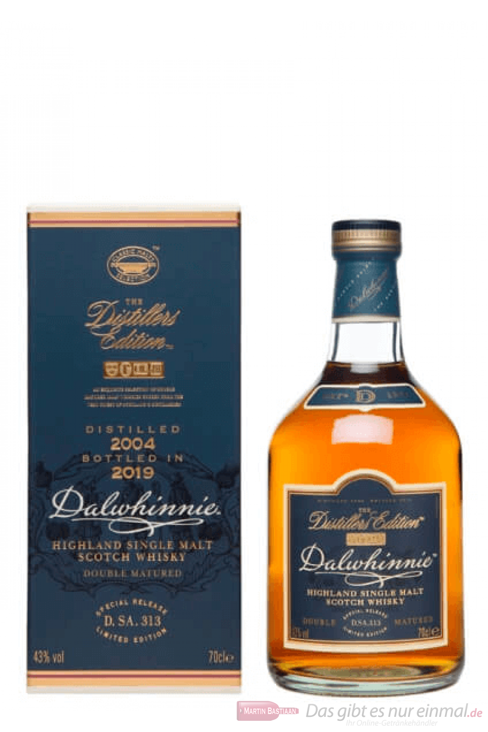 Dalwhinnie Distillers Edition 2019 / 2004 Single Malt Scotch Whisky 0,7l