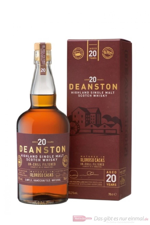 Deanston 20 Years