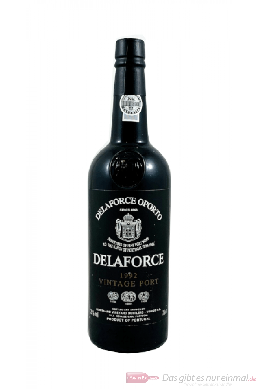 Delaforce Vintage 1992 Port Portwein 0,75l