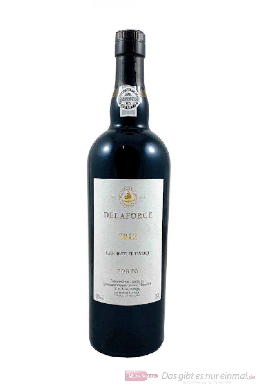 Delaforce Late Bottled Vintage Port 2012 Portwein 0,75l